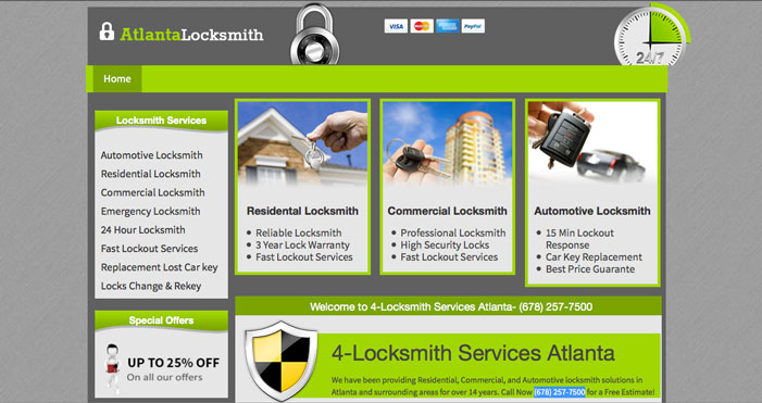 Recommended Atlanta Locksmith