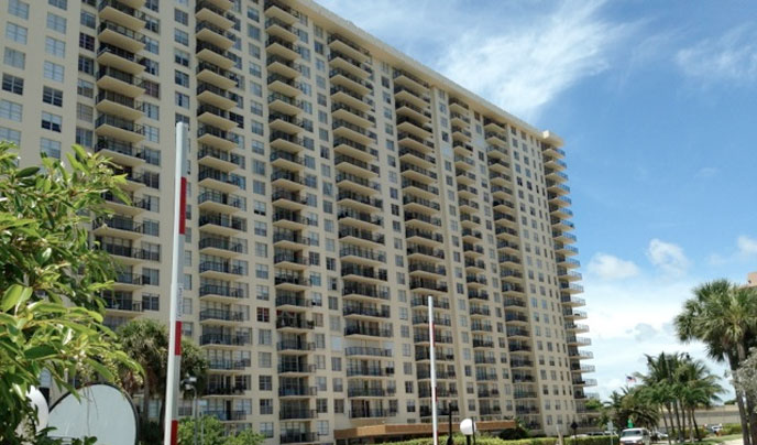 The Winston Towers in Sunny Isles Beach